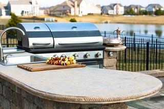 propane outdoor kitchen