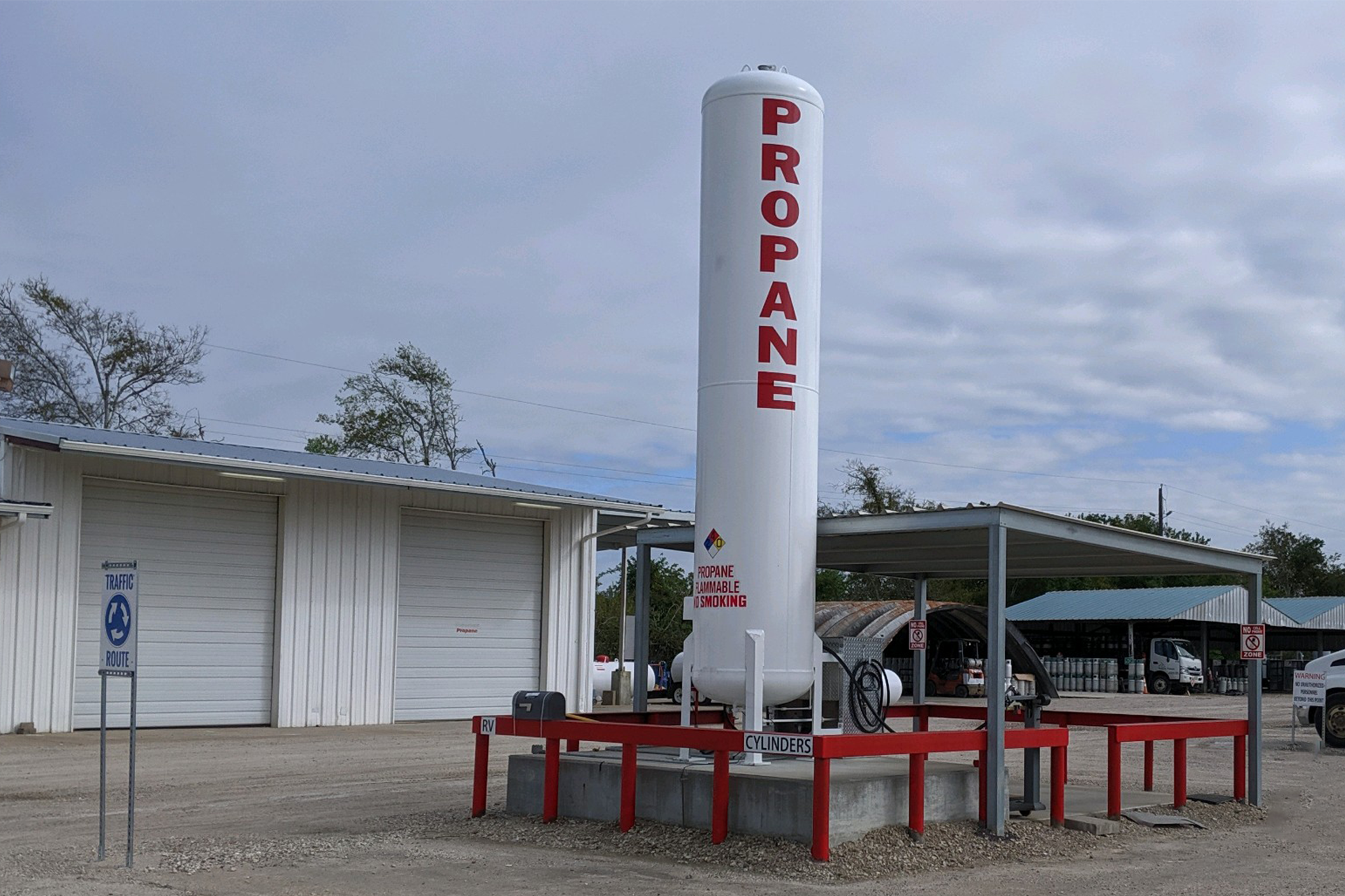 propane dispenser